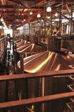 Equipo de la elaboración de vino Imagen de archivo