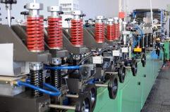 Equipo de la fábrica imagenes de archivo