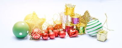 Equipo de la Feliz Navidad por Año Nuevo de la celebración Imágenes de archivo libres de regalías