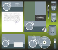 Equipo de la identidad corporativa Fotografía de archivo