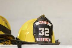 Equipo de la lucha contra el fuego Foto de archivo
