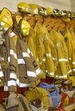 Equipo de la lucha contra el fuego Fotos de archivo