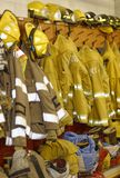 Equipo de la lucha contra el fuego Fotos de archivo libres de regalías
