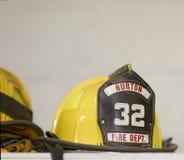 Equipo de la lucha contra el fuego Imagenes de archivo