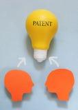 Equipo de la patente Foto de archivo libre de regalías
