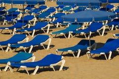 Equipo de la playa Imagenes de archivo