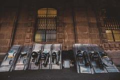 Equipo de la policía Imágenes de archivo libres de regalías