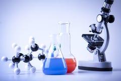 Equipo de la química Fotos de archivo