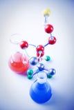 Equipo de la química Fotografía de archivo