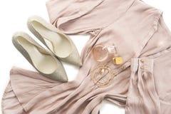 Equipo de la ropa elegante de las señoras Foto de archivo