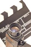Equipo de la vendimia para la grabación video fotos de archivo