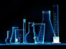 Equipo de laboratorio Foto de archivo libre de regalías