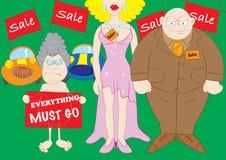 Equipo de las ventas Imagen de archivo