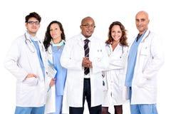 Equipo de los doctores Imagenes de archivo