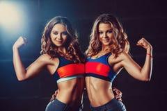 Equipo de los gemelos de los deportes imagen de archivo