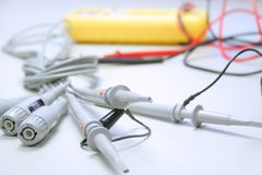 Equipo de medida eléctrico Foto de archivo libre de regalías