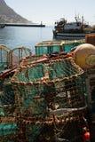Equipo de pesca de la langosta Imagenes de archivo