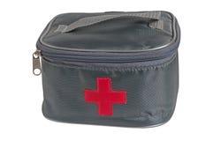 Equipo de primeros auxilios. Imagenes de archivo