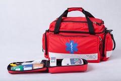 Equipo de primeros auxilios Imagenes de archivo