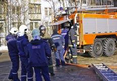 Equipo de rescate Fotografía de archivo libre de regalías
