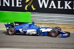 Equipo de Sauber F1 Imagen de archivo libre de regalías
