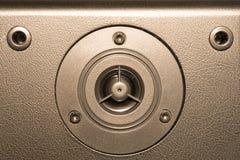 Equipo de sistema audio Fotografía de archivo libre de regalías
