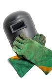 Equipo de soldadura Fotografía de archivo libre de regalías