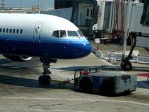 Equipo de tierra del aeropuerto fotografía de archivo