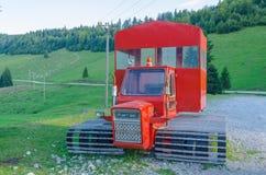 Equipo de transporte para el invierno Fotografía de archivo