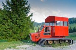 Equipo de transporte para el invierno Foto de archivo libre de regalías