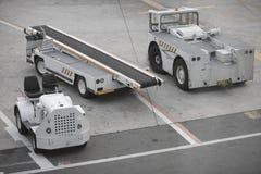 Equipo del aeropuerto Imagen de archivo libre de regalías