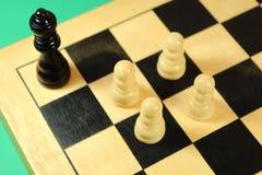 Equipo del ajedrez Fotos de archivo libres de regalías