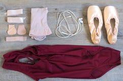Equipo del ballet Imagen de archivo