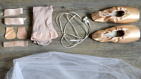 Equipo del ballet Foto de archivo libre de regalías