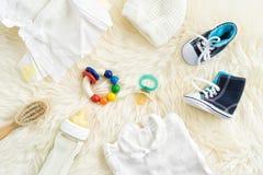 Equipo del bebé Imagenes de archivo