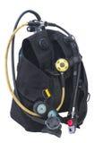 Equipo del buceo con escafandra Imagen de archivo libre de regalías