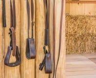 equipo del caballo de montar a caballo Imágenes de archivo libres de regalías
