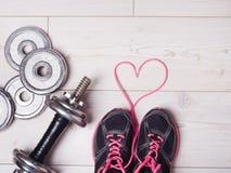Equipo del corazón y de deporte Fotos de archivo libres de regalías