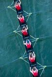 Equipo del equipo en la competencia Fotografía de archivo
