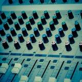 Equipo del estudio de los sonidos Imagen de archivo