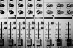 Equipo del estudio de los sonidos Foto de archivo libre de regalías