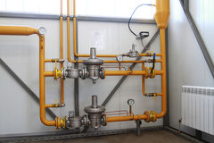 Equipo del gas Imagenes de archivo