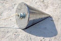 Equipo del girocompás de la ingeniería Fotos de archivo libres de regalías