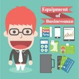 Equipo del hombre de negocios ilustración del vector