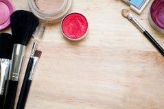 equipo del maquillaje Fotos de archivo libres de regalías