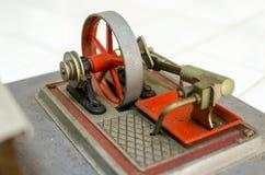 Equipo del modelo del motor de vapor Imagenes de archivo