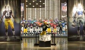 Equipo del NFL Imagen de archivo
