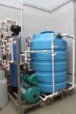 Equipo del proceso químico Imagen de archivo libre de regalías