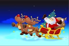 Equipo del ` s de Papá Noel stock de ilustración
