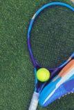 Equipo del tenis Imagen de archivo libre de regalías